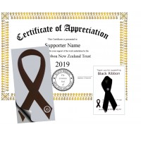 Black Ribbon Supporter