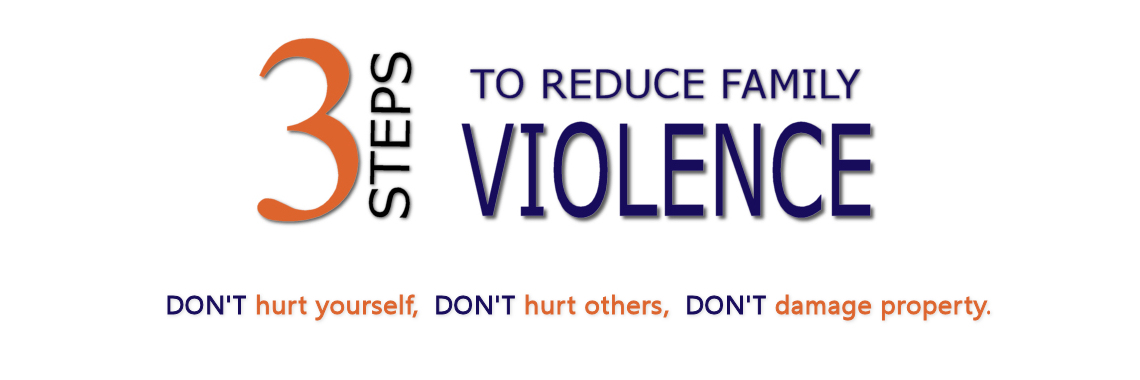 Three Steps to Reduce Family Violence
